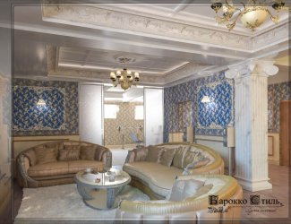 Apartment in the classical style (Baku)